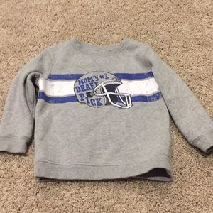 Toddler boy sweatshirt